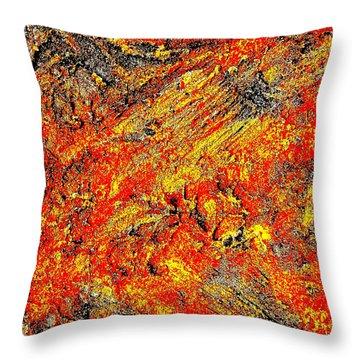 Rusty Euphoria Throw Pillow