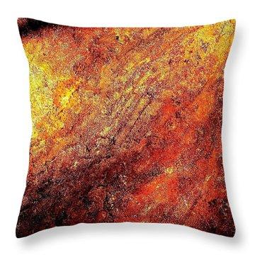 Rusty Flirt Throw Pillow
