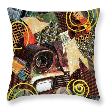Rusty Musty Fusty Throw Pillow