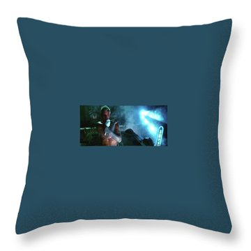 Rutger Hauer Number 2 Blade Runner Publicity Photo 1982 Color Added 2016 Throw Pillow