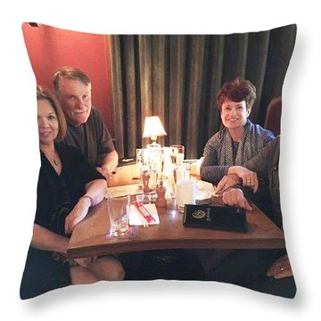 Ruth And Tom Throw Pillow