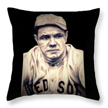 Ruth Throw Pillow by Fred Larucci