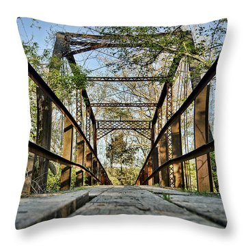 Englewood Bridge Throw Pillow