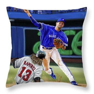 Ryan Goins Throw Pillow