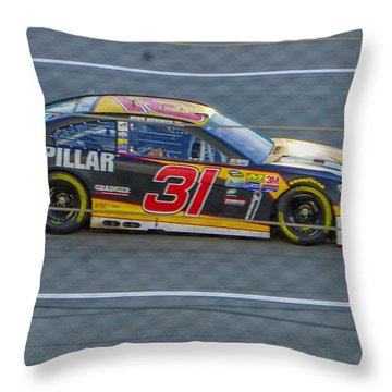 Ryan Newman Throw Pillow