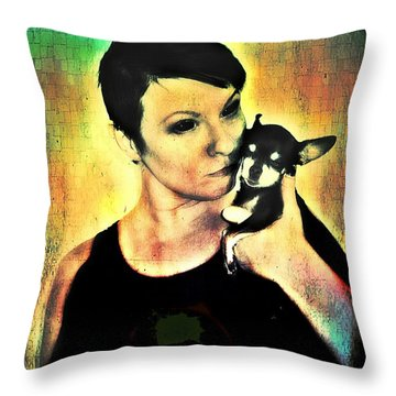 Ryli And Chi-chi 1 Throw Pillow