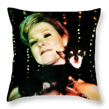 Ryli And Chi-chi 2 Throw Pillow