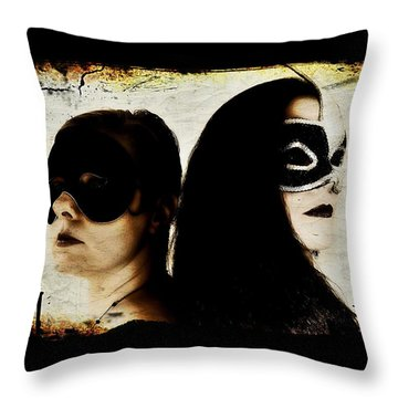 Ryli And Corinne 1 Throw Pillow