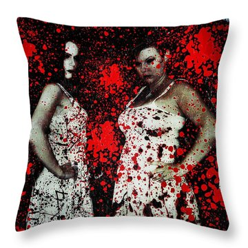Ryli And Corinne 2 Throw Pillow