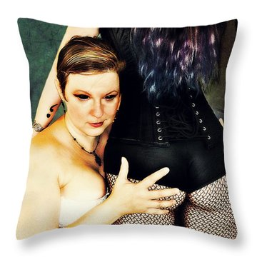 Ryli And Corinne 3 Throw Pillow
