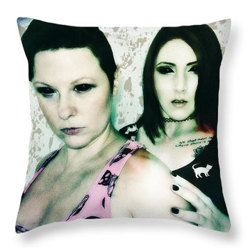 Ryli And Khrist 1 Throw Pillow