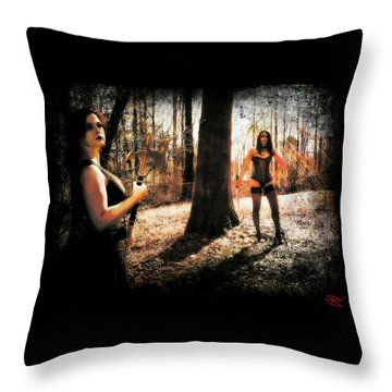 Ryli And Nancy 1 Throw Pillow
