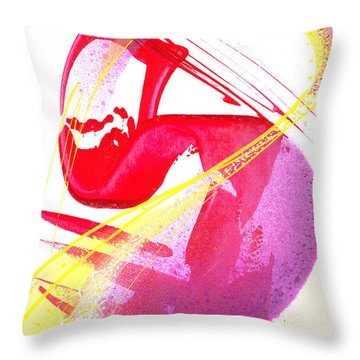 S-is For Super Throw Pillow