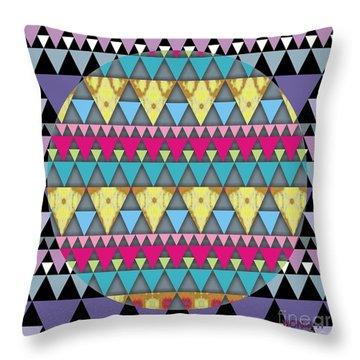 S-pyramids 1 Throw Pillow