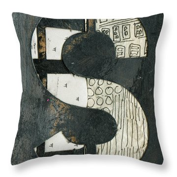 The Letter S Throw Pillow