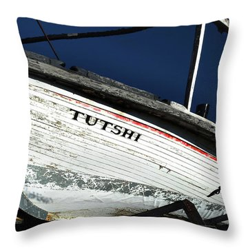 S. S. Tutshi Throw Pillow