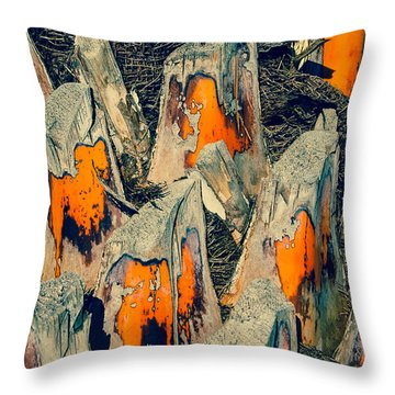 Sabal Palm Throw Pillow