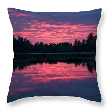 Sabao Sunset 01 Throw Pillow