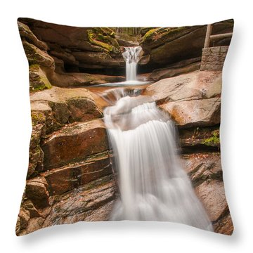 Sabbaday Falls Throw Pillow