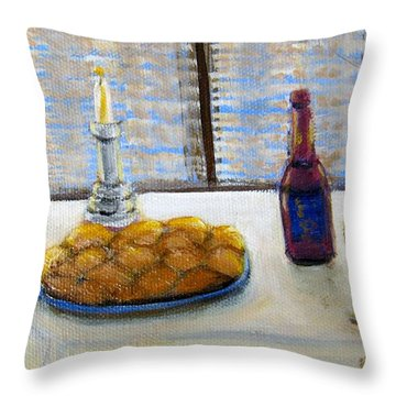 Sabbath Throw Pillow by Laurie Morgan