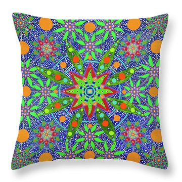 Sabiduria De Las Plantas Throw Pillow