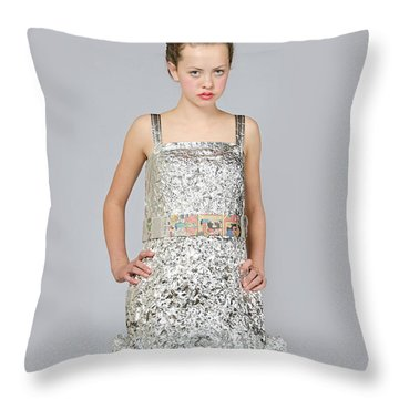 Nicoya In Dress Secondary Fashion 2 Throw Pillow