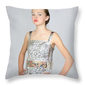 Nicoya In Secondary Fashion Throw Pillow