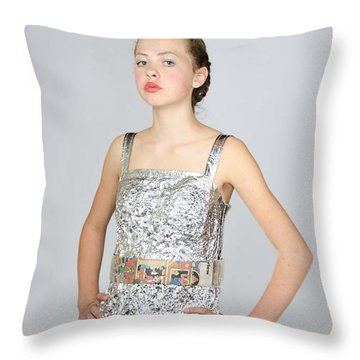 Nicoya In Secondary Fashion Throw Pillow