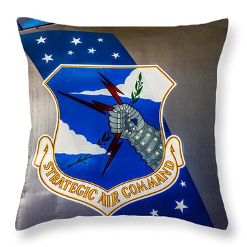 Strategic Air Command Throw Pillow