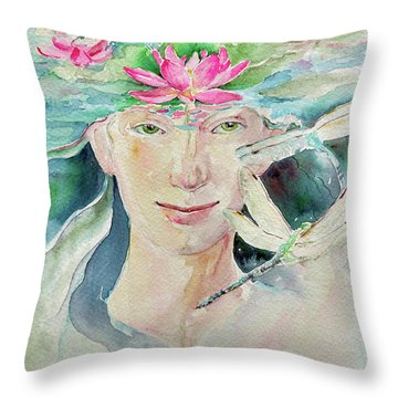 Sacred Awakening Throw Pillow
