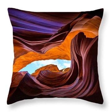 Sacred Colors Throw Pillow