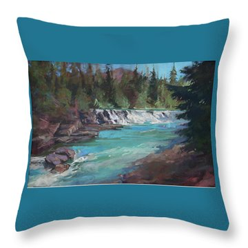 Sacred Dancing Cascade Throw Pillow