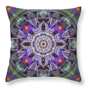 Sacred Emergence Throw Pillow