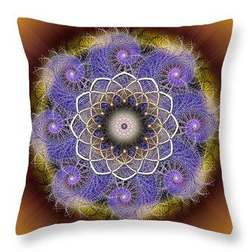 Sacred Geometry 412 Throw Pillow