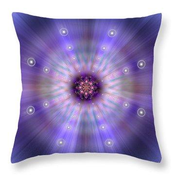 Sacred Geometry 420 Throw Pillow