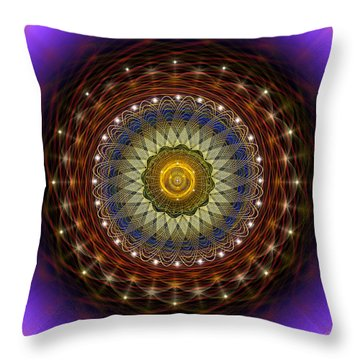 Sacred Geometry 433 Throw Pillow