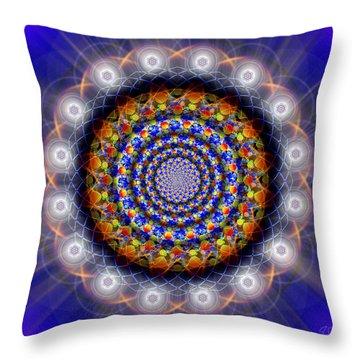 Sacred Geometry 436 Throw Pillow