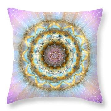 Sacred Geometry 438 Throw Pillow