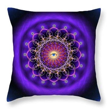 Sacred Geometry 443 Throw Pillow