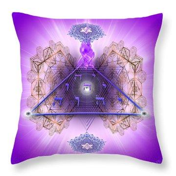 Sacred Geometry 450 Throw Pillow