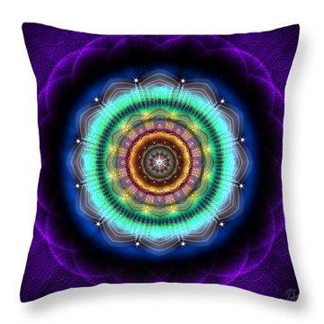 Sacred Geometry 476 Throw Pillow