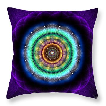 Sacred Geometry 476 Throw Pillow