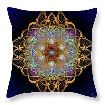 Sacred Geometry 570 Throw Pillow