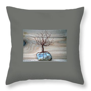 Sacred Oak Throw Pillow