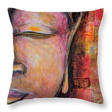 Sacred Silence Throw Pillow