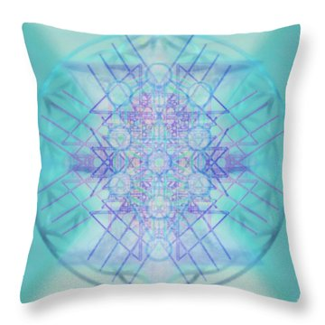 Sacred Symbols Out Of The Void A2b Throw Pillow