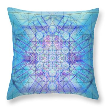 Sacred Symbols Out Of The Void A3c Throw Pillow by Christopher Pringer