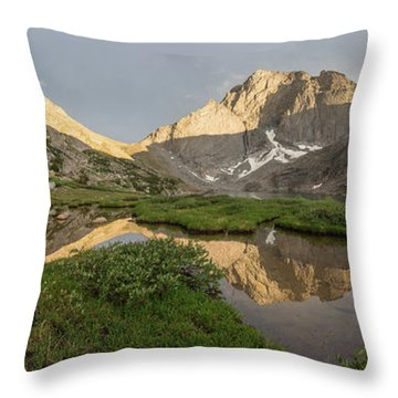 Throw Pillow featuring the photograph Sacred Temple by Dustin LeFevre