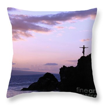 Sacred Tribute Throw Pillow