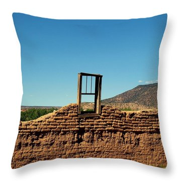 Sacred Window Throw Pillow